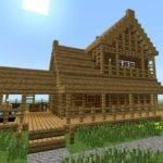 Minecraft Build Little Wooden House Floor Youtube