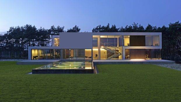 Minimal Modern House Poland Design Moderndesign