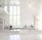Minimalist Loft White Paint Wall Decor