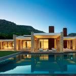 Minimalist Stone House Monasterios Open Courtyards