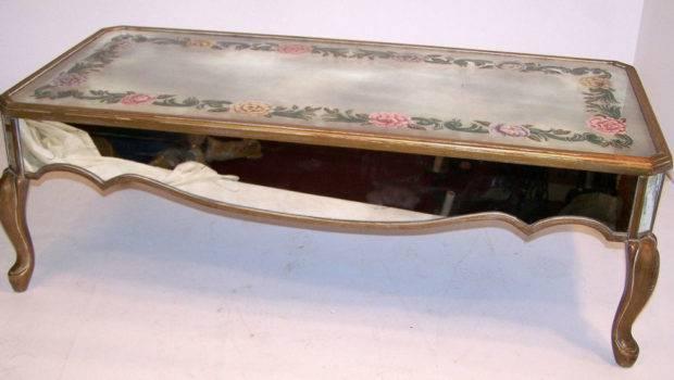 Mirror Eglomise Coffee Table Stdibs