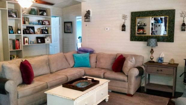 Mobile Home Living Room Remodel Finale