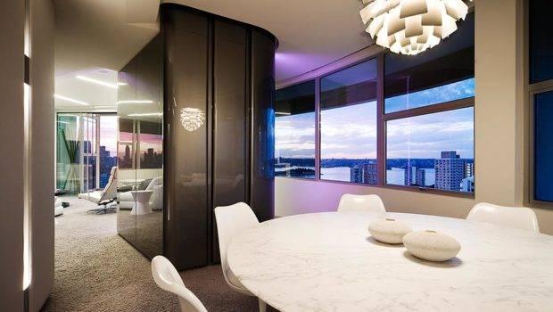 Modern Apartment Interior Design Warm Glamour Style Digsdigs