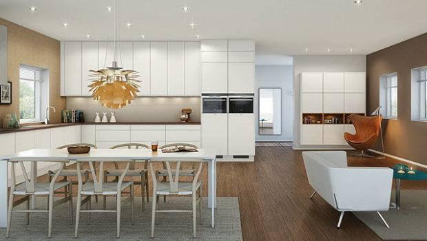 Modern Apartment Kitchen Interior Design Ideas