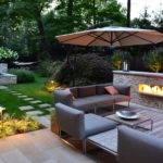 Modern Backyard Landscaping Ideas Small Spaces Sofa Set