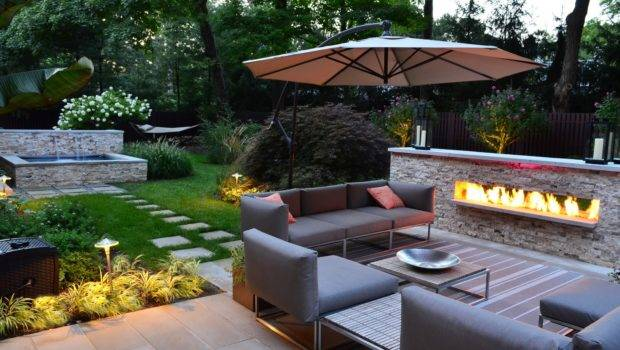 Modern Backyard Landscaping Ideas Small Spaces Sofa Set