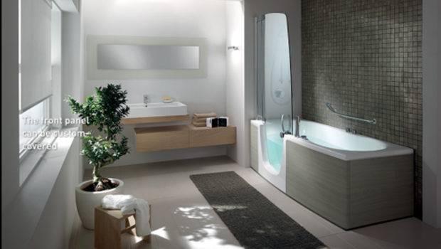Modern Bathroom Interior Landscape One Total Outstanding