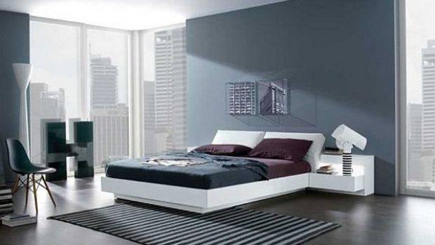 Modern Bedroom Wall Paint Designs Ideas
