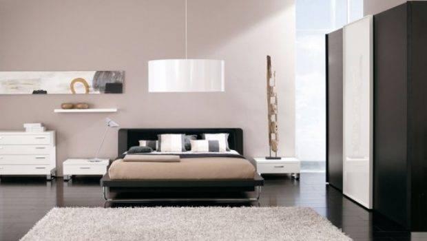 Modern Bedroom White Color Furniture
