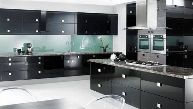 Modern Black Kitchen Cabinets Designs
