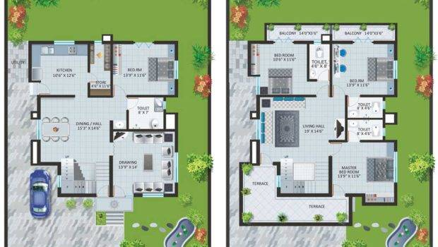 Modern Bungalow House Designs Floor Plans Type