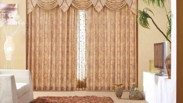 Modern Curtains Small Living Room Design Ideas