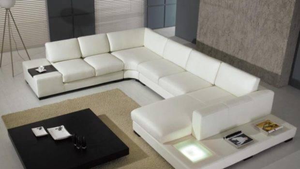 Modern Custom Leather Sofa Sectional Sofas Furniture