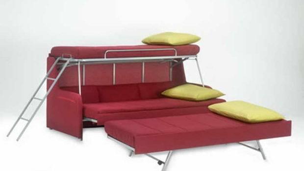 Modern Design Convertible Sofa Bunk Bed Home Interior