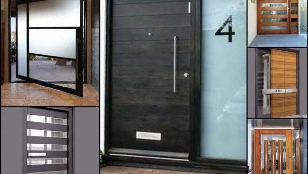 Modern Front Doors Car Ports Entrance House