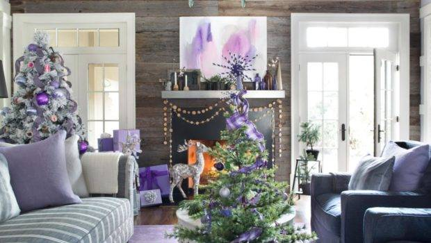 Modern Holiday Color Scheme Decorating Entertaining