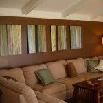 Modern Home Decor Brown Color Wall Paint
