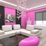Modern Home Decor Pink Wall Painting Ideas Beautiful