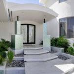 Modern Home Entrance Design Mediterranean