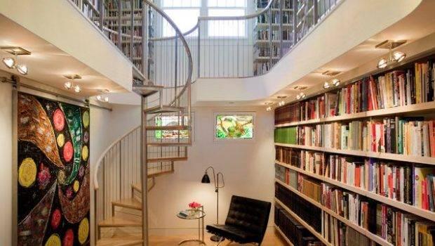 Modern Home Library Design Decoist