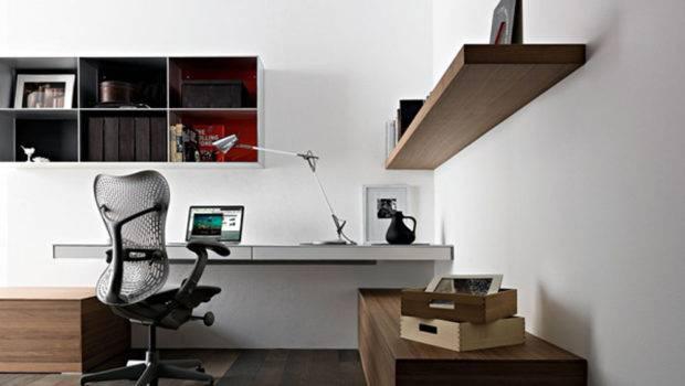 Modern Home Office Desk Valcucine Interior Design Architecture