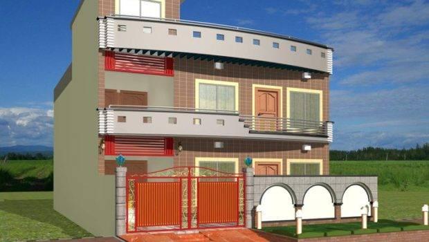 Modern Homes Exterior Designs Front Views
