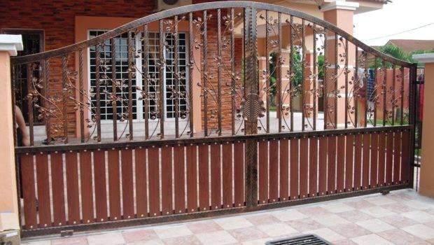 Modern Homes Iron Main Entrance Gate Designs Ideas New Home