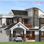 Modern House Architecture Kerala Home Design Floor