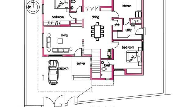 Modern House Plan Kerala Home Design