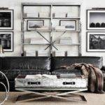Modern Industrial Living Room Back Wall Too Busy Love