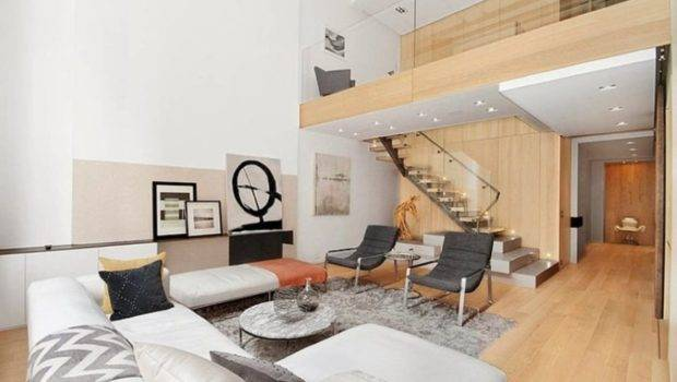 Modern Interior Design Duplex Apartment New York