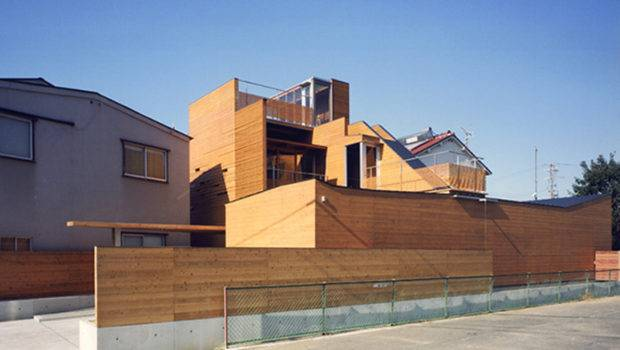 Modern Japanese Wooden House Layouts One Total Natural