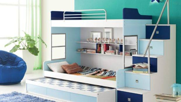 Modern Kids Loft Bed Bunk Beds