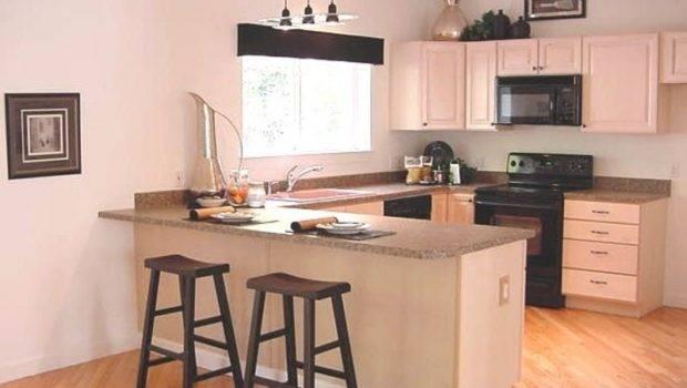 Modern Kitchen Breakfast Bar Design Bookmark