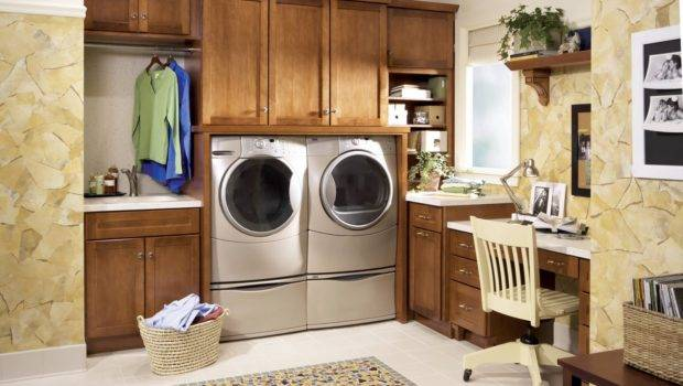 Modern Laundry Room Cabinets Ideas Think