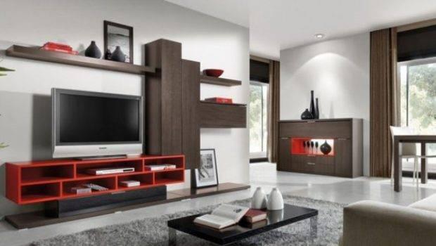 Modern Living Room Decoration Minimalist Lcd Cabinet Design