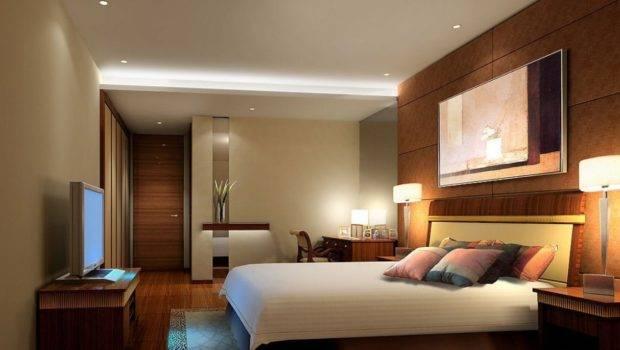 Modern Master Bedroom Walls Lighting