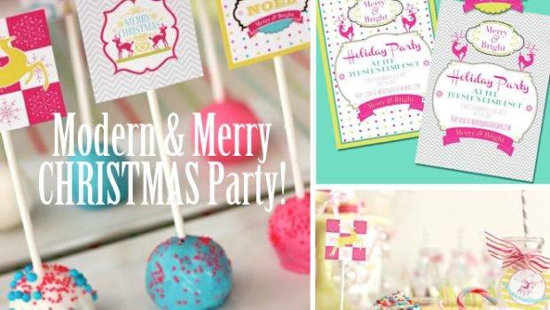 Modern Merry Christmas Holiday Party Planning Via Karas Ideas