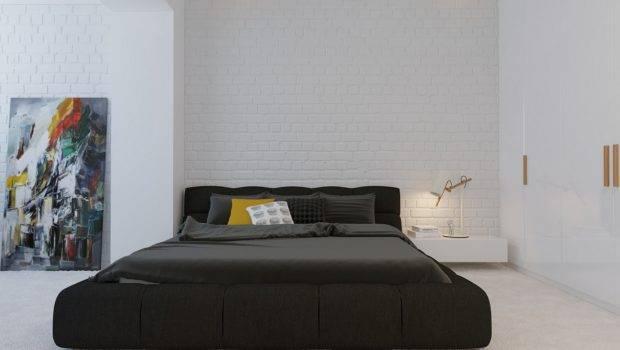 Modern Minimalist Black Bedroom Pillow Design Olpos