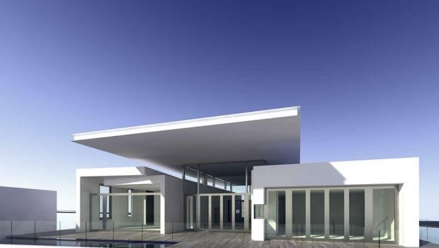 Modern Minimalist Home House Design Style
