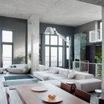 Modern Open Plan Loft Ukraine Interior Design