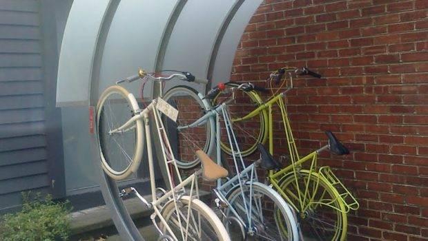 Modern Outdoor Unique Bike Storage Rack
