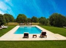 Modern Pool Calimesa Landscaping