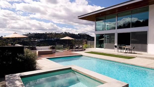 Modern Pool Design Interior Architecture Furniture Decor