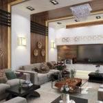 Modern Shape Living Room Model Max Cgtrader