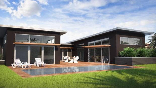 Modern Shaped House Plans Homes Floor