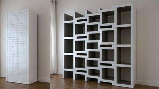 Modern Shelving Units Designs Decorating Bookshelves