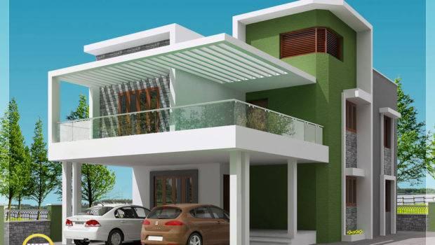 Modern Simple Indian House Design Kerala Home