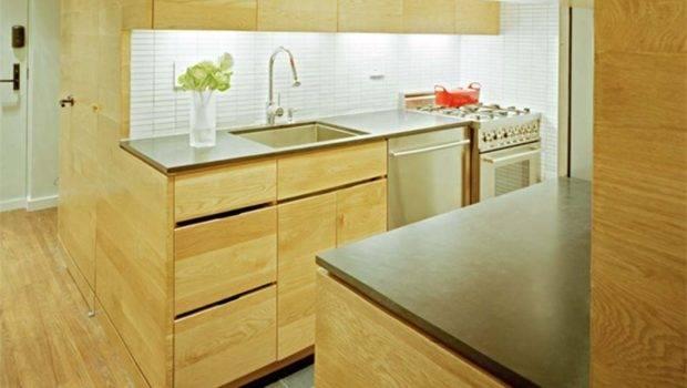 Modern Small Kitchen Studio Apartment