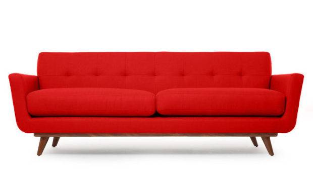 Modern Sofa Retro Cool But Not Grover Cleveland